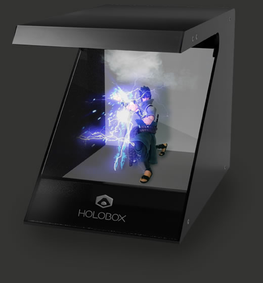 Holobox Slim with Sasuke Hologram